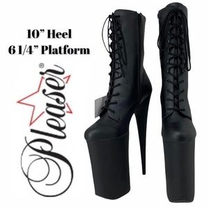 Pleaser Beyond-1020 Platform Ankle Boot